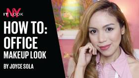 Maybelline Video How To: Simple Office Look by Joyce Sola